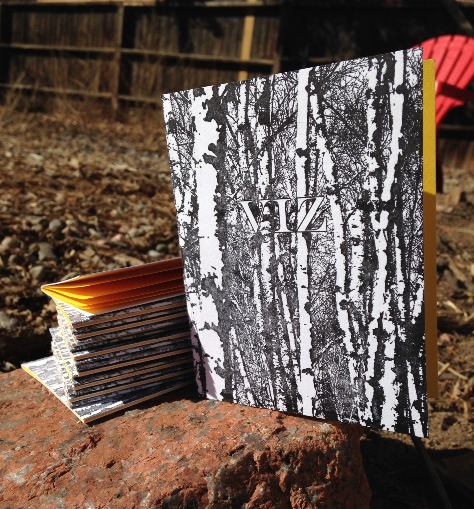Letter pressed chapbook 8 pages