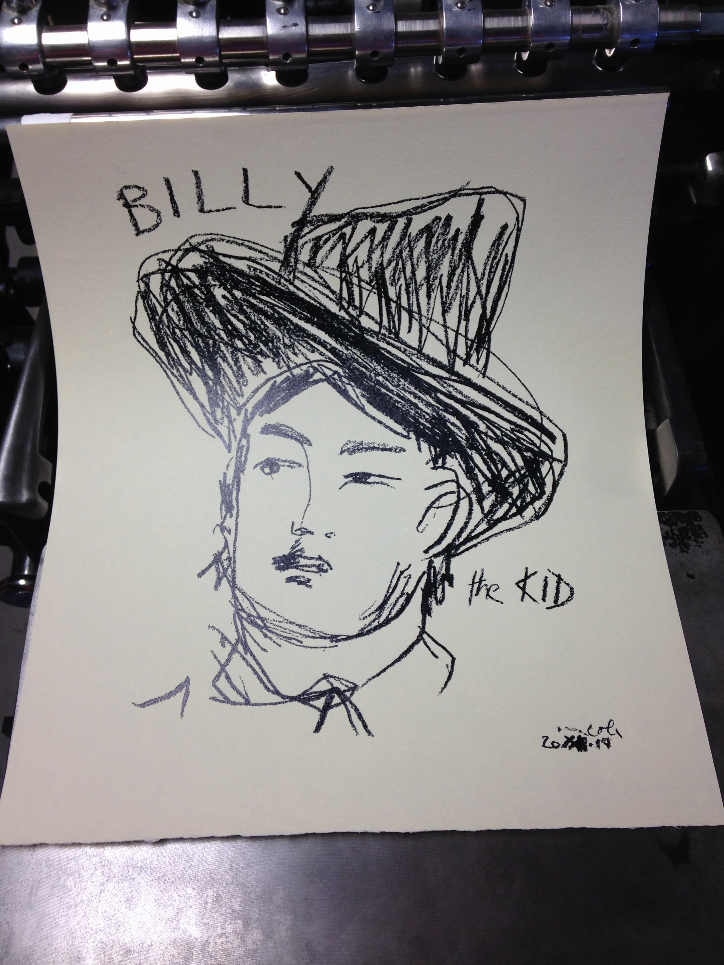Norma Cole – Billy the Kid