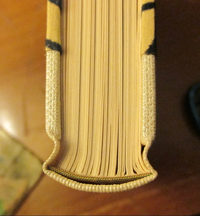 Blank journal binding