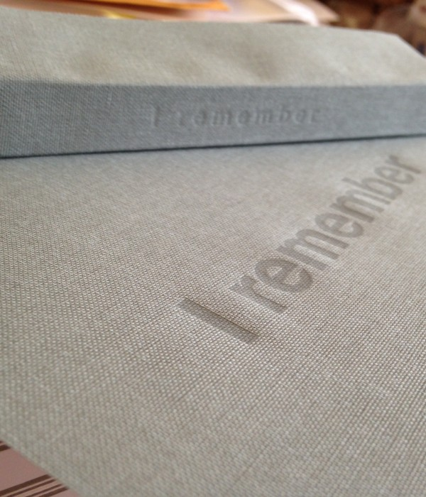 Cover and spine cloth printing on letterpress