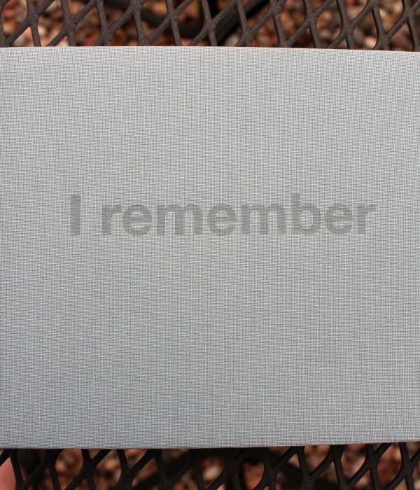 privately printed memorial book